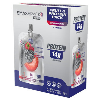 Smashpack On The Go Mixed Berry Protein Shake - 5 oz