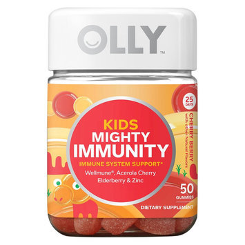Olly Kids Cherry Berry Immune System Vitamin Gummies - 50 Count