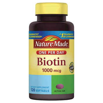 Nature Made Biotin 1000 mcg Softgels - 120 Count