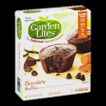 Garden Lites Chocolate Muffins - 4 CT
