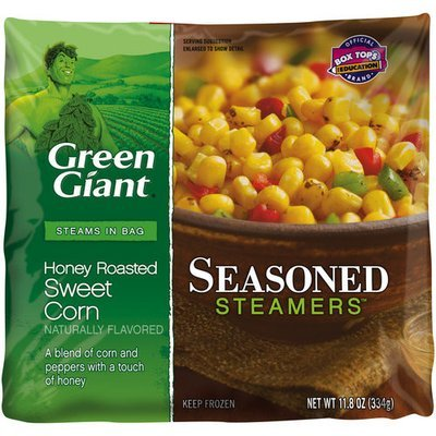 Green Giant Seasoned Steamers Honey Roasted Sweet Corn