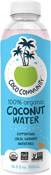 Coco Community Organic Coconut Water
