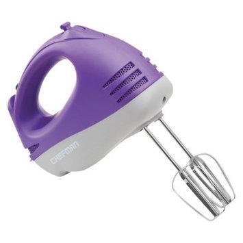 Chefman Rubberized Hand Mixer - Purple