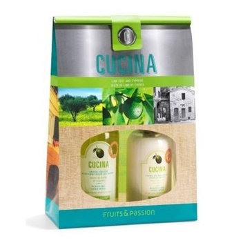 Fruits & Passion Cucina Risotto Hand Soap and Hand Cream Duo, Orange Sanguinelli and Fennel