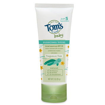 Tom's OF MAINE Fragrance Free Baby Sunscreen
