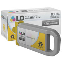 LD Compatible Replacement for Canon PFI-706Y Yellow Ink Cartridge for use in Canon imagePROGRAF iPF8300, iPF8300S, iPF8400, iPF8400S, iPF8400SE, iPF9400, & iPF9400S