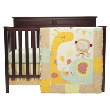 Graco Jungle Friends 3 Piece Crib Bedding Set