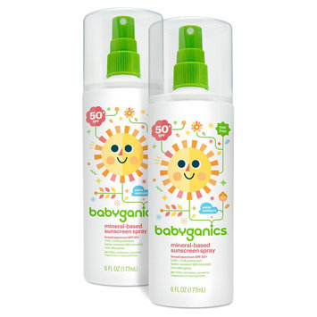 Babyganics 50spf Sun Spray - 6oz. - (2PK)
