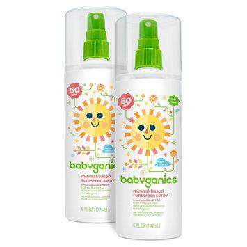Babyganics 50spf Sun Spray - 6oz. - (2PK)