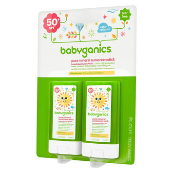 Babyganics Sunscreen Stick .47oz (2pk)