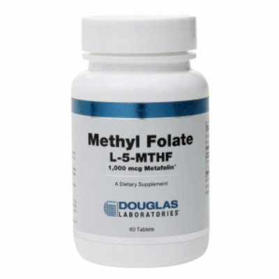 Douglas Laboratories Methyl Folate 5-MTHF, Tablets, 60 ea