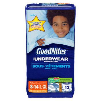 Huggies® GoodNites Boys Underwear for Nighttime