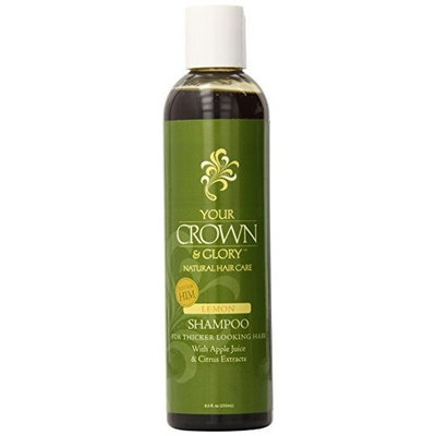 Your Crown & Glory Heritage Store Shampoo for Thicker Hair, Lemon, 8.5 Ounce