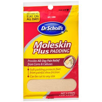 Dr. Scholl's Moleskin Plus Padding Strips