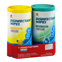 Ahold Disinfectant Wipes Lemon and Fresh Scent