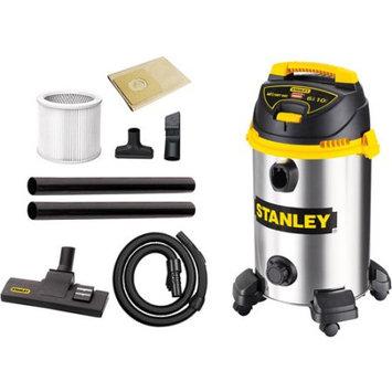 Stanley 10-Gal. Stainless Steel Wet/Dry Vacuum SL18014