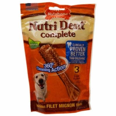 Nylabone NutriDent Complete Filet Mignon Large 3pk