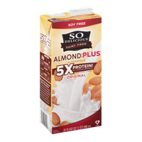 So Delicious Dairy Free Almond + Plus Almondmilk Original
