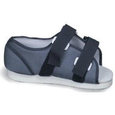 Mabis Duro-Med DMI Blue Mesh Post-Op Shoe, Men's, Small