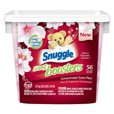 Snuggle Scent Boosters Cherry Blossom Charm Concentrated Scent Pacs - 56 Count