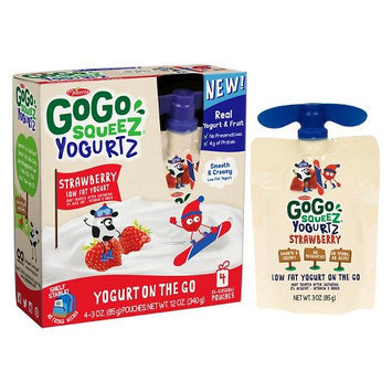 GoGo SqueeZ Yogurt, Strawberry