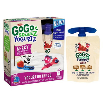 Gogo SqueeZ Yogurt, Berry