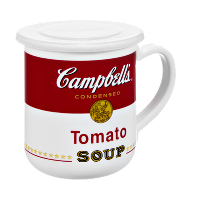 Campbell's Microwaveable Soup Container