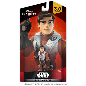 Disney Interactive Studios - Disney Infinity: 3.0 Edition Star Wars: The Force Awakens Poe Dameron Figure