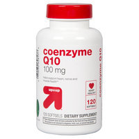 up & up Coenzyme Q10 100mg Softgels - 120 Count