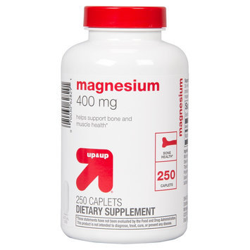 up & up Magnesium 400 mg Caplets For Bone Health - 250 Count