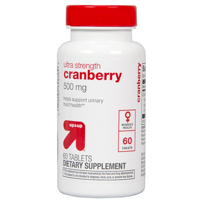 up & up Ultra Strength Cranberry 500 mg Tablets For Women - 60 Count