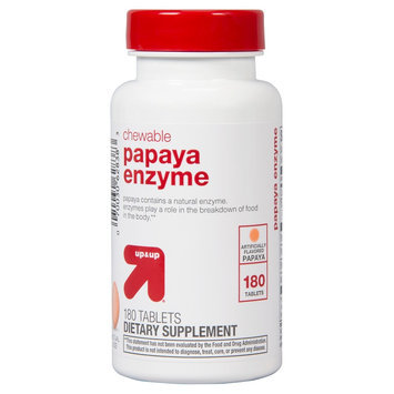 up & up Papaya Enzyme Chewable Tablets - 180 Count