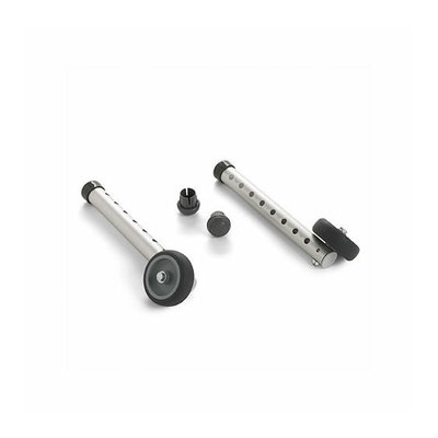Invacare Fixed-Wheel Attachments with Glide Tips