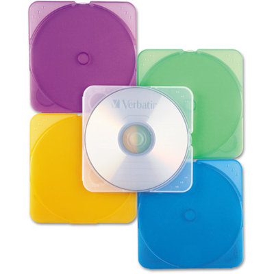 Verbatim Trimpak Color CD Cases