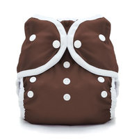Thirsties Duo Wrap Snap, Mud, Size Two (18-40 lbs)
