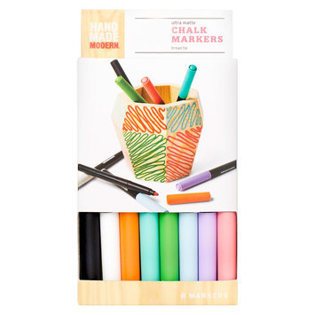 Hand Made Modern Chalk Markers - 8pk, Multi-Colored