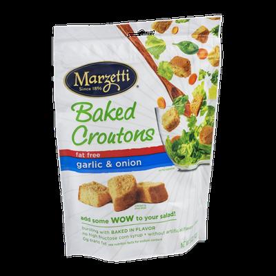 Marzetti Baked Croutons Fat Free Garlic & Onion