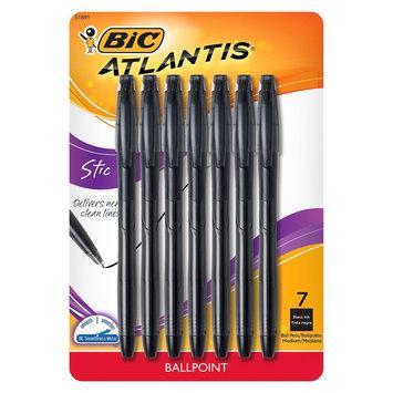 BIC Atlantis Ballpoint Stic Pen 7ct - Black