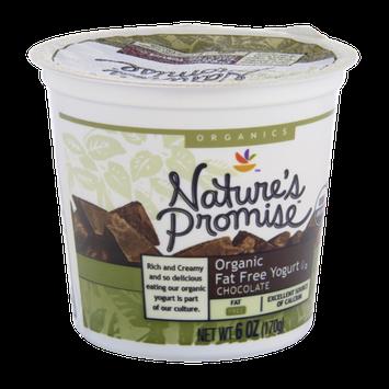 Nature's Promise Organics Organic Fat Free Chocolate Yogurt