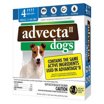 Advecta II Flea & Tick Drops for Small Dog - 4 ct