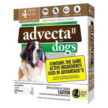 Advecta II Flea & Tick Drops for Extra Large Dog - 4ct