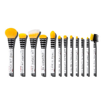 Sonia Kashuk Limited Edition Knock Out Beauty Brush Set 12-piece