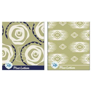 Puffs Facial Tissue with Lotion 2pk Spring 56 Tissues per Box