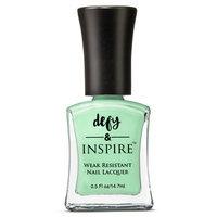 Defy & Inspire Pastel Palette 2016 Wear Resistant Nail Laquer - Mint Julep