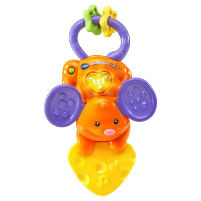 VTech Musical Mouse Teether, Multi-Colored