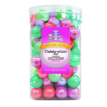 Celebration Sweetworks Gumballs Party Jar Multi 34 oz