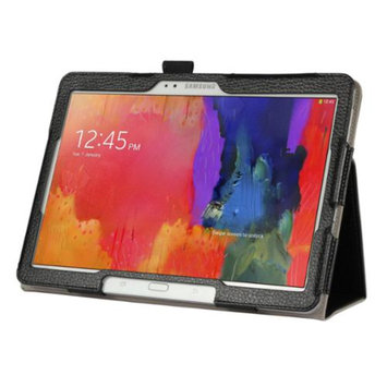 Black Double-Fold Folio Case for Samsung Galaxy Pro 12.2