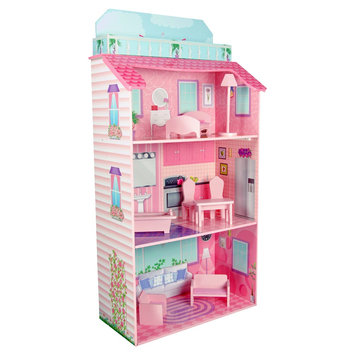 Teamson Kids Glamour Mansion Fold-In Doll House ()