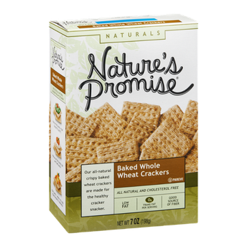 Nature's Promise Baked Whole Wheat Crackers