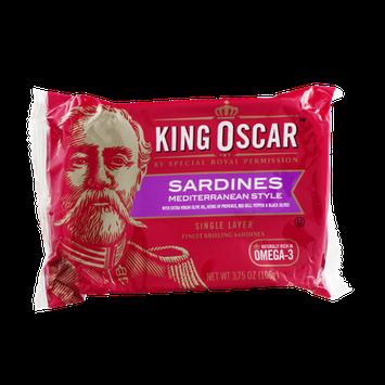 King Oscar Sardines Mediterranean Style